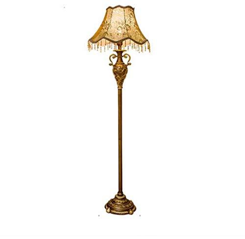 CWJ Wohnzimmer, Hotel, Schlafzimmer, Stehlampe - Stehleuchte Europäische Stehlampe Wohnzimmer Sc -