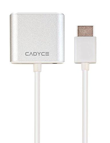 Cadyce CA-HDVGA HDMI to VGA Adapter (White)