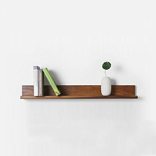 ASL Massivholz Bücherregal, Retro Schrank Wand Regal Wand Hängende Wand Schrank Wohnzimmer Sofa Hintergrund Schrank 90cm Qualität ( größe : #1 ) -