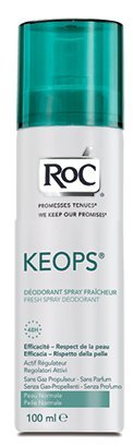 RoC Linea Deodoranti Keops Deodorante Fresh Vapo Traspirazione Intensa 100 ml