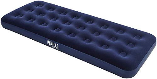 Pavillo aufblasbares Single-Luftbett Blue Horizon für eine Person, 185 x 76 x 22 cm