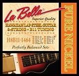 La Bella Hawaiian Lap Steel 8 cordes de guitare en Nickel Tunin B11