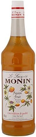Le Tirop De Monin Passion Fruit Syrup, 1 Litre