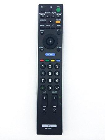RM-ED011 Télécommande Fit de rechange pour Sony BRAVIA LCD