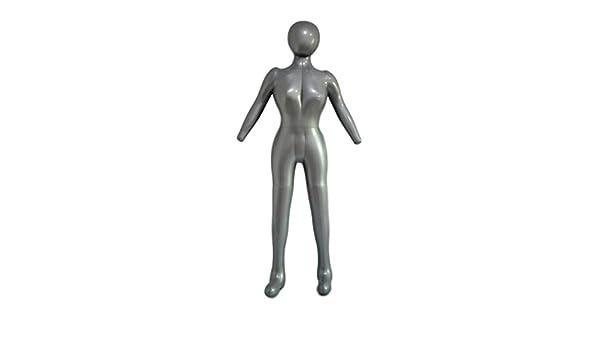 Schaufensterpuppe Fransande Aufblasbares Damenmodell mit Arm Schaufenster-Requisiten