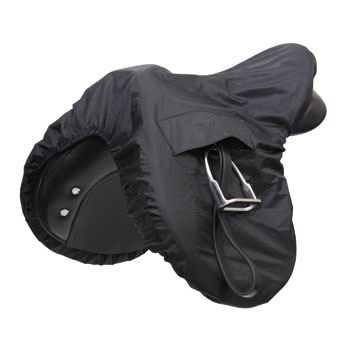 Image of Waterproof Ride On saddle Cover - Black
