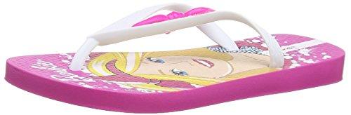 IpanemaBarbie Style - Sandali  da ragazza, Rosa (Rosa (Pink/White)), 29/30 EU (10/11  child UK)