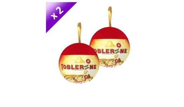 TOBLERONE TOBLERONE Boule De Noël 150g (x2): Amazon.fr: Bébés