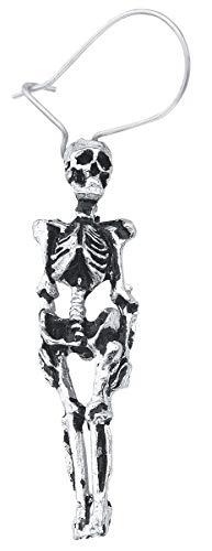 Ohrringe Skelett - Alchemy Gothic Skeleton Studs Ohrhänger
