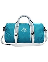 Banggood ELECTROPRIME Unisex Large Travel Duffel Bag Foldable Luggage Sport Gym Shoulder Bag Blue