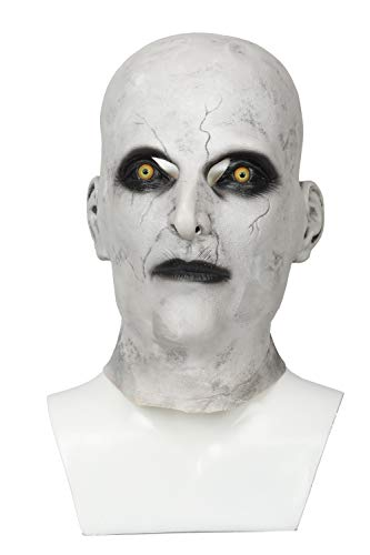 Xcoser Halloween Die Nonne Maske The Nun Horrible Vollen Kopf Helm Cosplay Kostüm Replik für Halloween Kostüm Zubehör