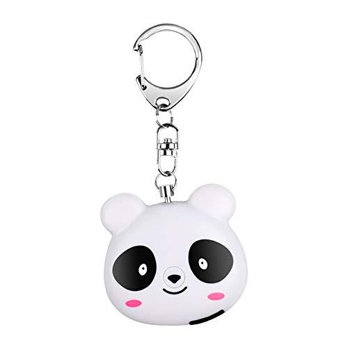 Preisvergleich Produktbild Safe Sound Persönlicher Alarm,  Persönlicher Alarm Notfallschlüsselbund Mini Panda Sicherheitsalarm mit Standort-APP für Frauen,  ältere Kinder,  Nachtarbeiter