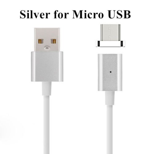 FONE BUDDY Fast Charging Magnetic Cable Micro USB 2.1A Quick Charging Data Sync for Android All Smartphones