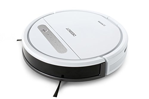 ECOVACS ROBOTICS DEEBOT OZMO 610 – Floor cleaning robot with systematic cleaning, OZMO mopping function and vacuuming in one path and App