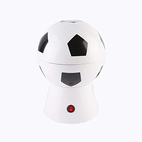 Fußball-Popcorn-Hersteller, Heißluft-Popcorn-Hersteller Popcorn-Maschine, Schwarz/Weiß, 63 X 42 X 31 Cm
