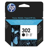 HP 302 Black Original Ink Cartridge - Cartucho tinta