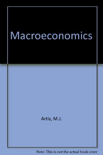 Macroeconomics by M.J. Artis (1984-09-06)