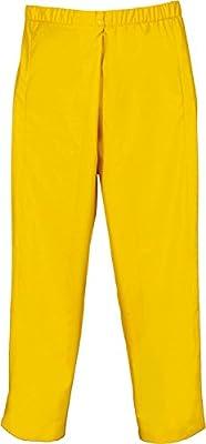 Lei Ka Tex PU- Stretch Regenbundhose Gelb Gr. S-XXXL Größe XXXL