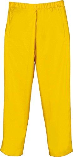 Lei Ka Tex PU- Stretch Regenbundhose Gelb Gr. S-XXXL Größe XL