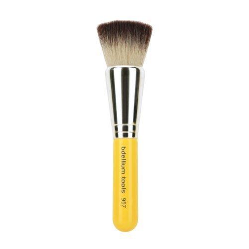 Bdellium Tools Professional Antibacterial Makeup Brush Travel Line - Precision Kabuki Airbrushed Effect 957 by Bdellium Tools (English Manual)