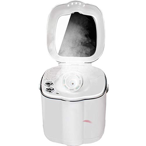 NBCDY Vaporizador Facial, humidificadores humectantes de Niebla cálida Nano iónica, Limpieza de poros, espinillas claras, impurezas para el acné, Cuidado de la Piel, para el pulverizador Facial