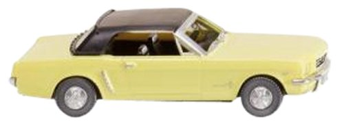 wiking-1-87-ford-mustang-cabriolet-sunlight-yellow-japan-import