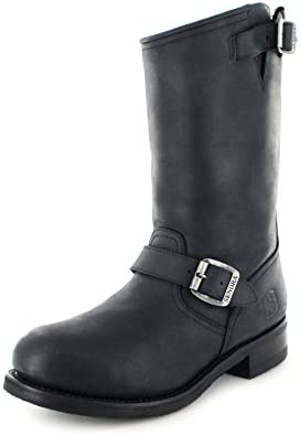 Sendra Boots 9852 - Botas de Piel para hombre Negro negro