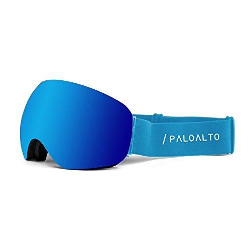 Paloalto Sunglasses Capitan Brille Ski Polarisiert Unisex Erwachsene, Blau
