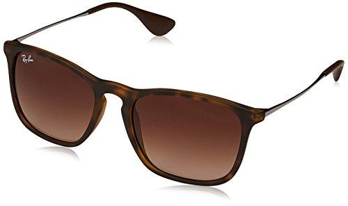 Ray-Ban Herren Mod. 4187 Sonnenbrille, Braun, 54