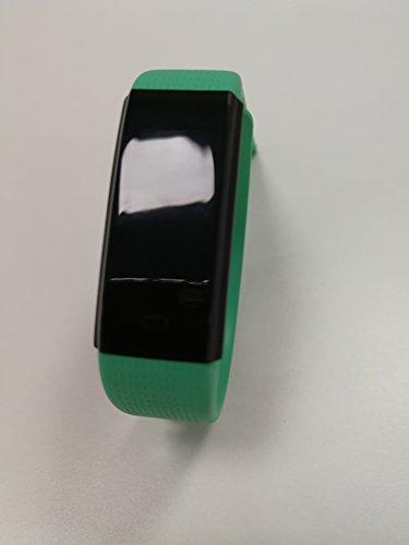 HolyHigh Pulsmesser mit wasserdichter Kamerabedienung für Android und iOS (Green)
