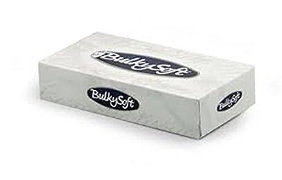 Mouchoirs papier blanc - carton de 40 boites de 100 mouchoirs - PO