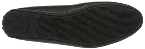 Clarks Reazor Drive, Mocassins Homme Noir (Black Leather)