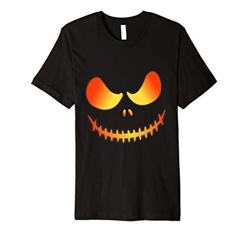 (Jack O' Lantern Halloween Scary Pumkin Face Costume Shirt)