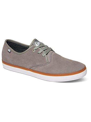 Quiksilver Homme Chaussures / Baskets Shorebreak Suede Gris - Grey/Grey/Grey