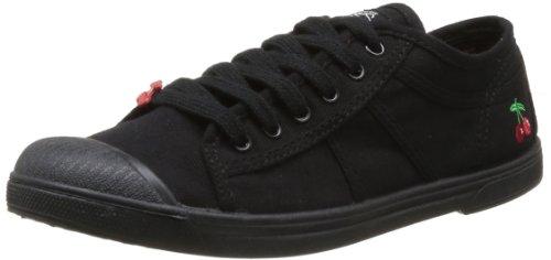 Le Temps des Cerises - Sneaker, Donna, Nero (Noir (Mono Black)), 36