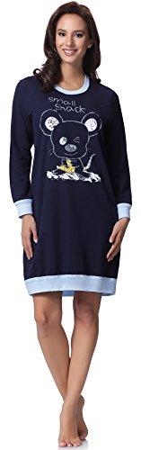Italian Fashion IF Camisón Mujer CH2RF5LL 0111Azul