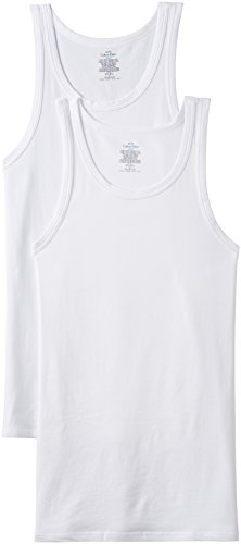 Calvin Klein Men's Cotton Vests (colors May Vary)