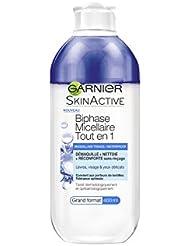 Garnier SkinActive Biphase Micellaire Tout En 1 Bleuet 400 ml - Lot de 2