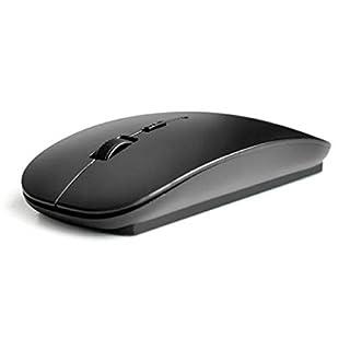 Amison Schlank 2,4 GHz optisch Wireless Maus mit Empfänger Für Laptop PC Mac