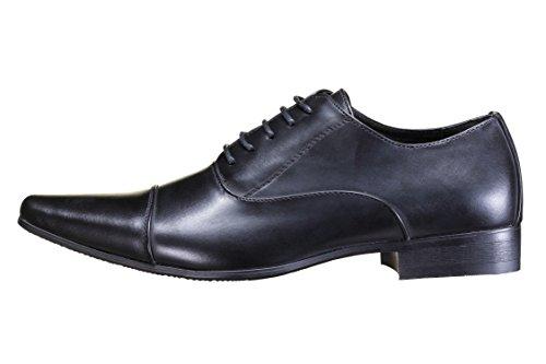 Galax - Chaussure Derbies Gh2352 Black Noir
