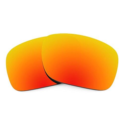 Revant Ersatzlinsen für Oakley Holbrook Feuerrot MirrorShield®