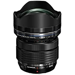 Olympus Objectif 7-14mm f/2.8 PRO pour Appareil Hybride Micro 4/3 - Noir