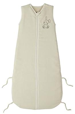 PMP - Saco de dormir de verano bordado crudo, 90-110cm, 6-36meses