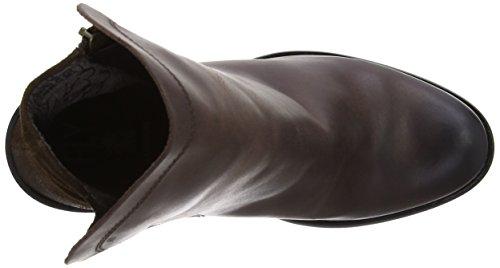 Fly London Thus Rug/Oil Suede Damen Stiefel Braun (Dark Brown/Espresso)