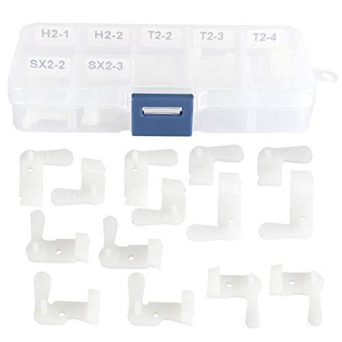 ASHATA Festplattenkopf-Ersatzreparaturwerkzeug, 1 Satz Festplattenkopf-Ersatzwerkzeug Hochwertiges Datenrettungs-Festplattenreparaturwerkzeug(14 Stück im Set)