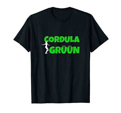 Cordula Grün Party Malle Song tanz T-Shirt