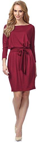 Merry Style Robe pour Femme MSSE0006 Bordeaux
