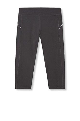 Esprit Sports 017ei1b008-E-Dry Capri, Leggings Femme Gris (Anthracite 010)