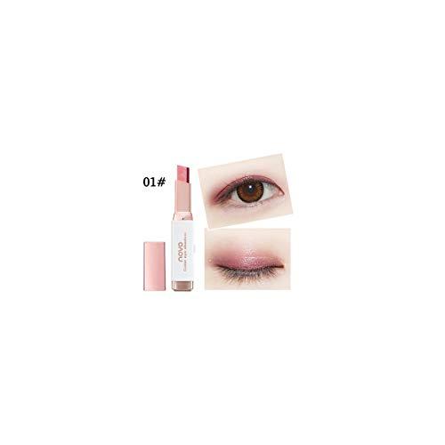 Zilosconcy Frauen Neuer Farbverlauf Zwei-Farben-Lidschatten-Stick Shimmer Palette Eye Cream Pen...