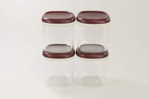 Tupperware Clear Collection 780 ml Crystal Bordeaux- transparent Vorratsdose (4)